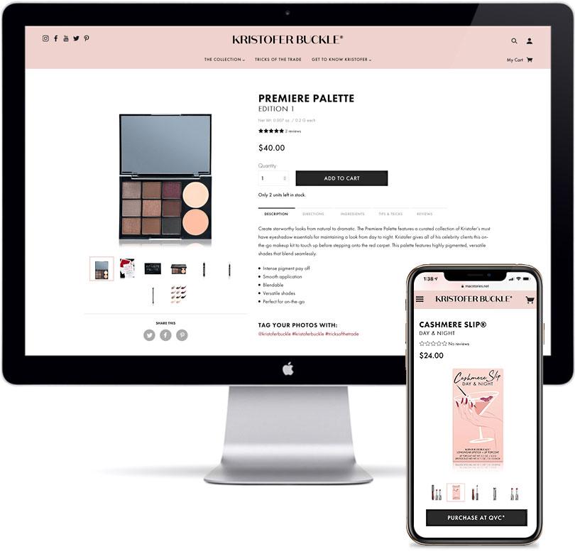 Kristofer Buckle - E-Commerce, Website Design & Development, Email Marketing, Creative Direction