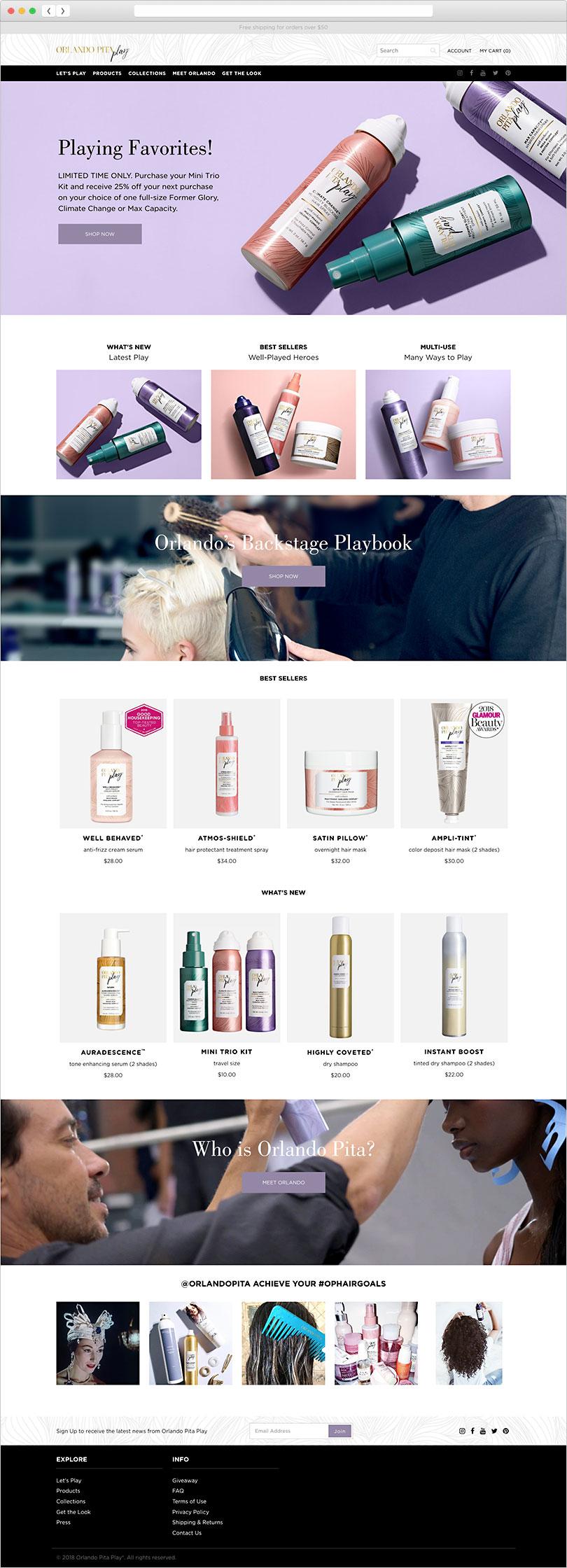 Orlando Pita - E-Commerce, Website Design & Development, Email Marketing, Creative Direction